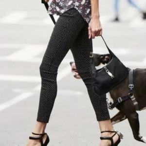 CAbi 5175 Black Polka Dot Trouser Crop Pant